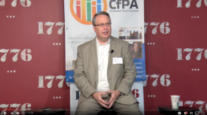 Richard Swart intro CfPA 4th annual summit