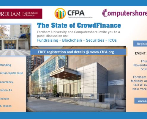 CfPA FREE Forum Nov 16 on W. 62nd
